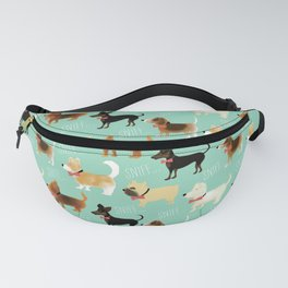 Lets sniff some butts Fanny Pack