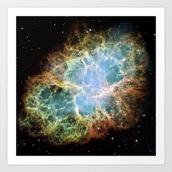 """""""Crab Nebula"""" Taurus Art Print"""