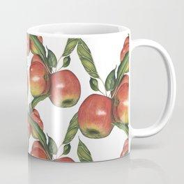 Hand Drawn Apple surface pattern deign Coffee Mug