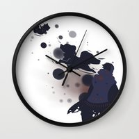 dmmd Wall Clocks featuring Take me away by Aspen Bear