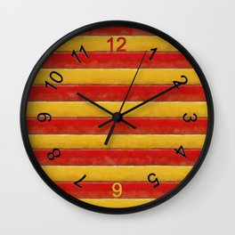 Stripey Wall Clock
