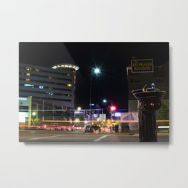 Nightlife by Logan Decker Metal Print