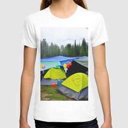 Camping Celebrations T-shirt