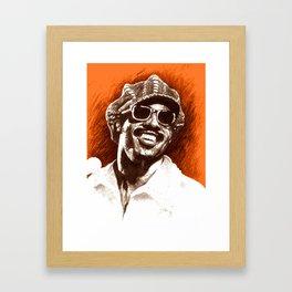 Stevie Wonder Framed Art Print
