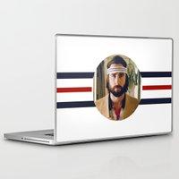 tenenbaum Laptop & iPad Skins featuring Richie Tenenbaum by VAGABOND