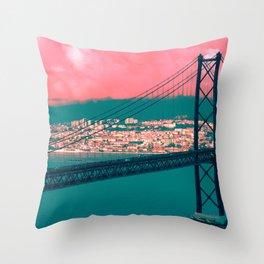 Bridge to hell Throw Pillow