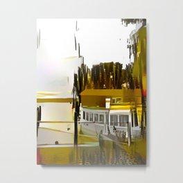 Neustrelitz Lakefront Metal Print