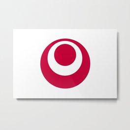 okinawa region flag japan prefecture Metal Print