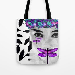 DRAGONFLY WOMAN 2 Tote Bag