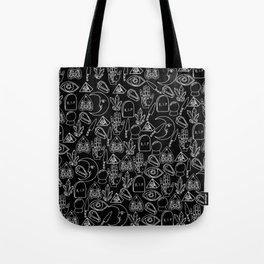 Cute Halloween Pattern Tote Bag