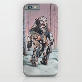 Catsquatch II iPhone Case