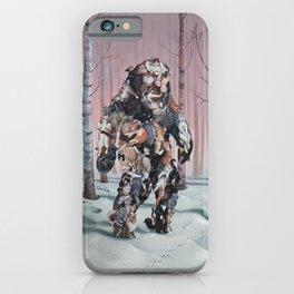 Catsquatch II iPhone Case