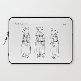 Character design for Eun Ae Laptop Sleeve