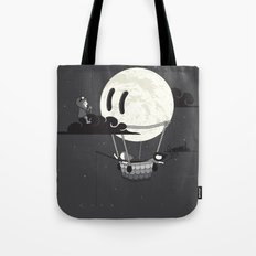 You Should See The Moon In Flight Tote Bag