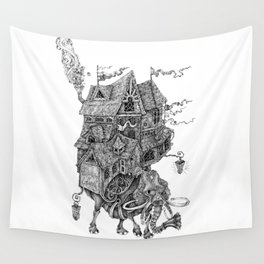 the wandering library 2 Wall Tapestry