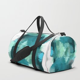 Abstract Jade Color Story Duffle Bag