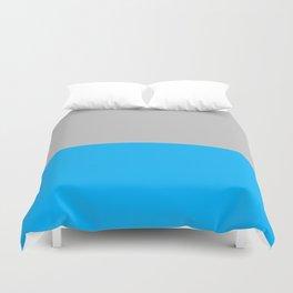 2-Tone Blue Duvet Cover
