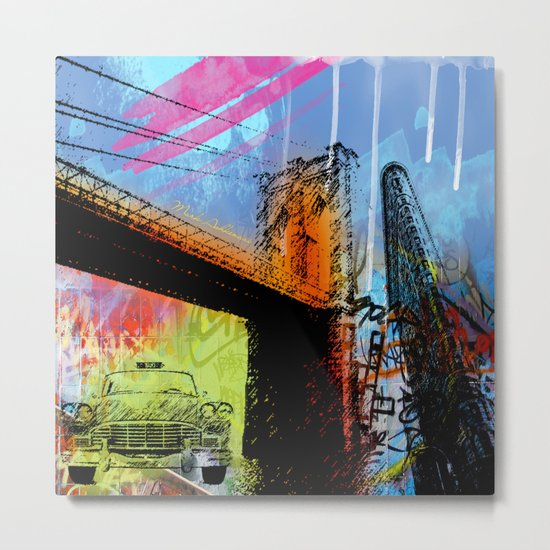 YORK, NEW YORK Metal Print