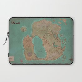 Map of Dereth //Asheron's Call Laptop Sleeve