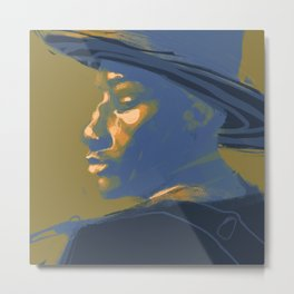 Leon Bridges Metal Print