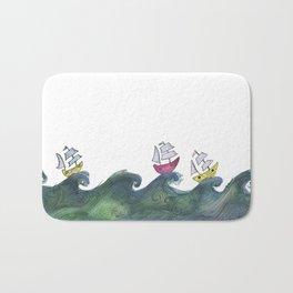 Boats Bath Mat