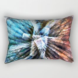 ARCHAIC MARITIME STRUCTURES Rectangular Pillow