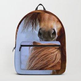 Majestic Horse With Big Mane Ultra HD Backpack
