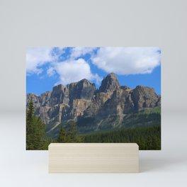 Castle Mountain Mini Art Print