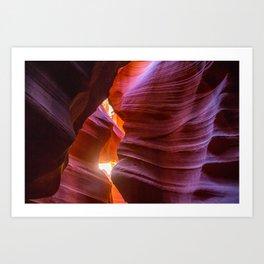 Antelope Canyon Art Print