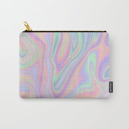 Liquid Colorful Abstract Rainbow Paint Carry-All Pouch