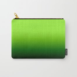 Lime Gradient Carry-All Pouch