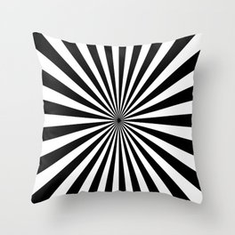 2017 COLLECTION| BLACK AND WHITE |  OPTICAL Throw Pillow