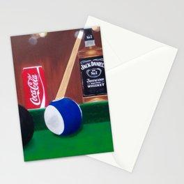 Pool anyone Stationery Cards