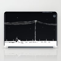 fargo iPad Cases featuring A Fargo interlude by James Courtney-Prior