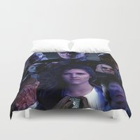 saga Duvet Covers featuring Hellraiser Saga by Saint Genesis
