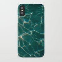 pool iPhone & iPod Cases featuring Pool by Claudia