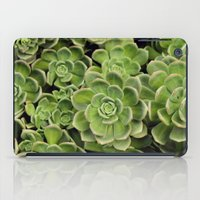 succulent iPad Cases featuring Succulent by Cynthia del Rio