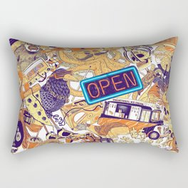 Urban Panel Rectangular Pillow