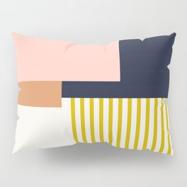 Sol Abstract Geometric Print in Multi Pillow Sham