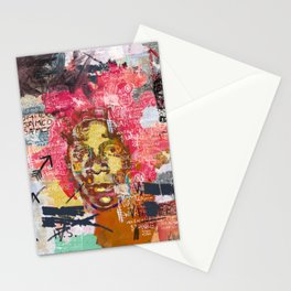 Jean-Michel Basquiat Portrait Stationery Cards
