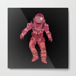 Adrift In Space (For David) Metal Print