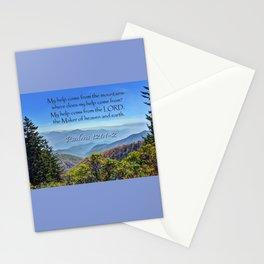Psalms 121:1-2 Stationery Cards