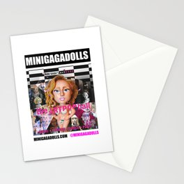 artRAVE minigadolls Stationery Cards