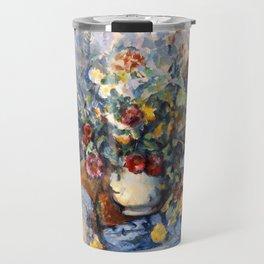 "Paul Cezanne ""A Large Bouquet of Flowers "" Travel Mug"