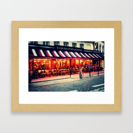 le café des étoile guerres  Framed Art Print