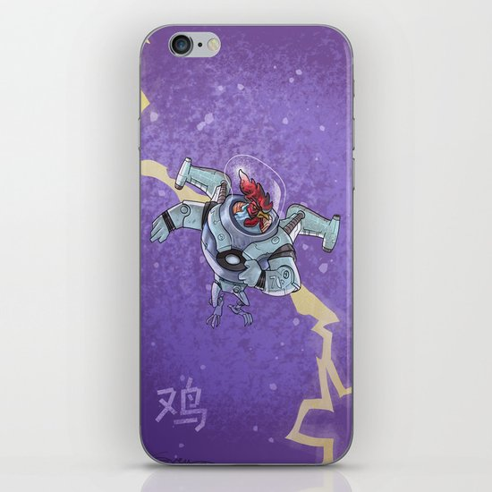 Astro Zodiac Force 10:  Rooster iPhone & iPod Skin