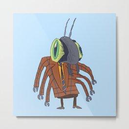 Biz Bug Metal Print