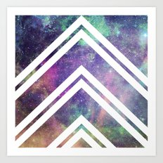 Spacey Art Print