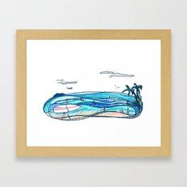 Surf Session Framed Art Print