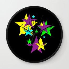 My Stars Wall Clock